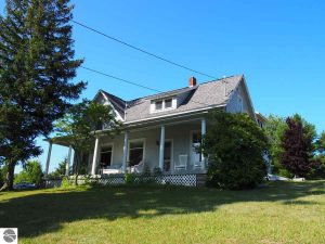 Home for Sale north of Frankfort, Benzie County.
